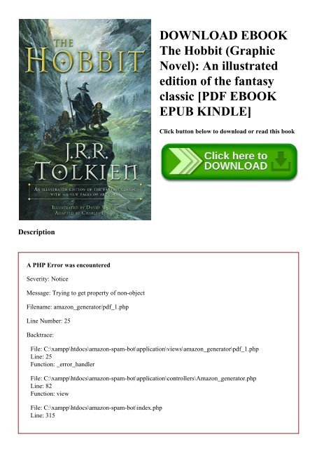 Series the hobbit pdf book