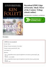 Download [PDF] Edge of Eternity Book Three of the Century Trilogy (ebook online)
