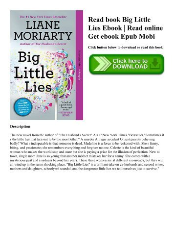 Read book Big Little Lies Ebook  Read online Get ebook Epub Mobi