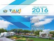 Informe Estadístico Municipio de Tuluá 2016
