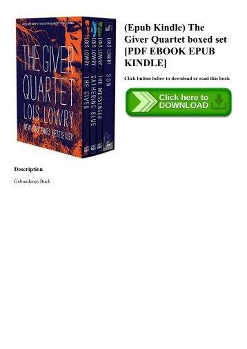 (Epub Kindle) The Giver Quartet boxed set [PDF EBOOK EPUB KINDLE]