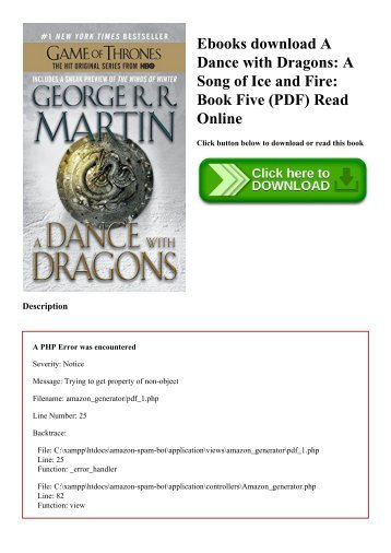 A Song Of Ice And Fire Complete Series Pdf