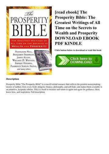 Prosperity Bible Pdf