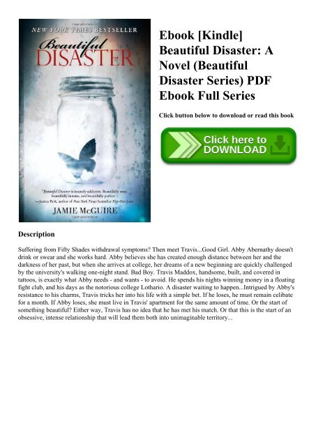 [PDF] [EPUB] Beautiful Disaster (Beautiful, #1) …