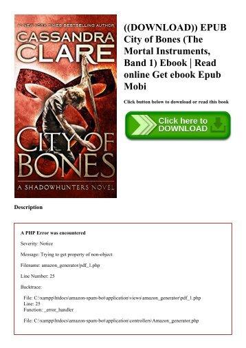 Free bones epub city mortal download instruments of