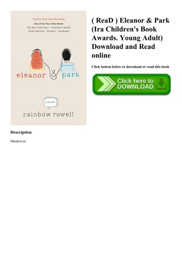 ( ReaD ) Eleanor & Park (Ira Children's Book Awards. Young Adult) Download and Read online
