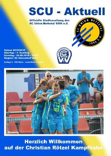SCU - Aktuell Saison 18/19 - Nr. 2