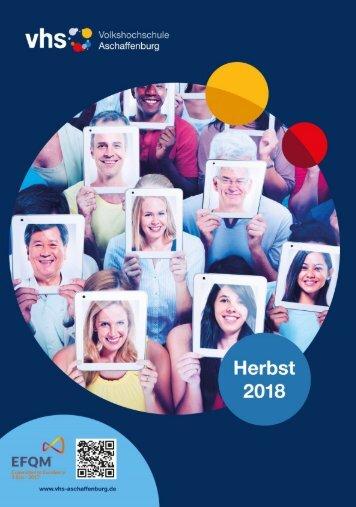 vhs Aschaffenburg Programmheft Herbst 2018_web