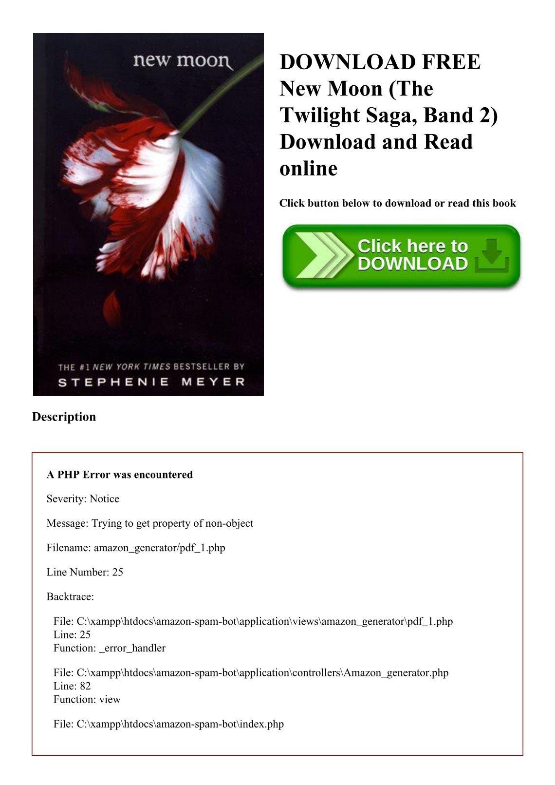 free download of twilight book pdf