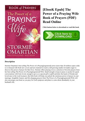 Read the prayers section pdf breslov ebook epub the power of a praying wife book of prayers pdf fandeluxe Images