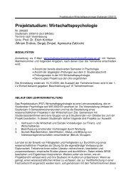 PST Info 0910 - Universität Wien