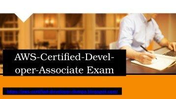 aws-certified-developer ppt