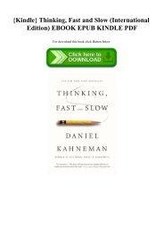 Daniel Kahneman Epub