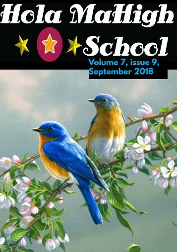 Hola MaHigh-School - September 2018