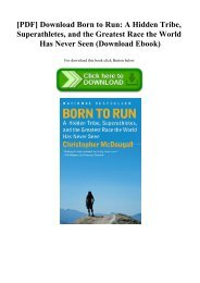 [PDF] Download Born to Run A Hidden Tribe  Superathletes  and the Greatest Race the World Has Never Seen (Download Ebook)