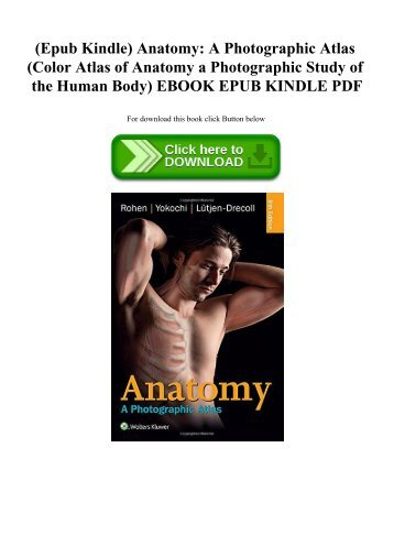 Best PDF Color Atlas of Anatomy: A Photographic Study of the Human ...