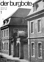 Der Burgbote 1970 (Jahrgang 50)