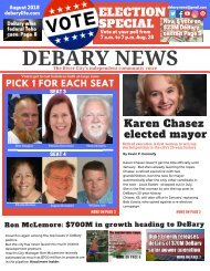 DeBary News August 2018