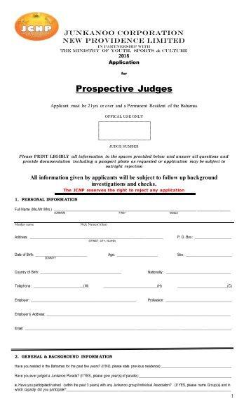 fillable form 2018 19 jcnp final ratified prospective judges