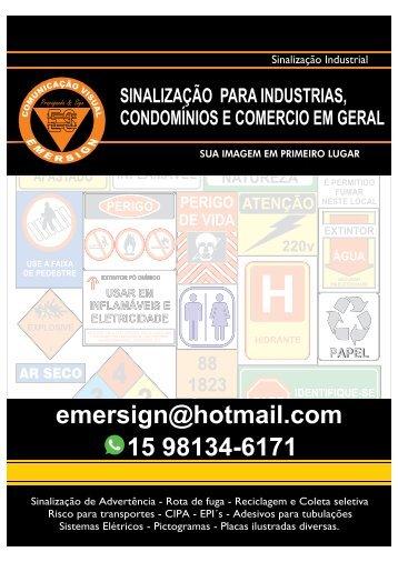 Catalogo Emersign Comunicação Visual Sorocaba