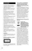 Sony MHC-EC719iP - MHC-EC719IP Istruzioni per l'uso Olandese - Page 2