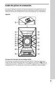 Sony MHC-EC719iP - MHC-EC719IP Istruzioni per l'uso Tedesco - Page 5