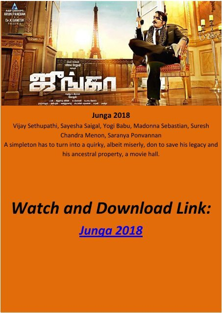 junga full hd movie download