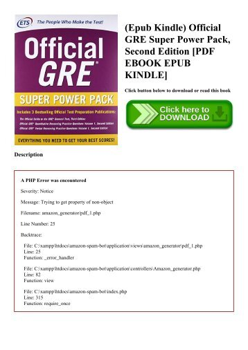 (Epub Kindle) Official GRE Super Power Pack  Second Edition [PDF EBOOK EPUB KINDLE]