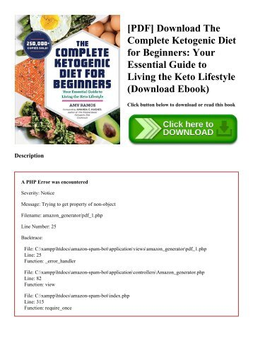 [PDF] Download The Complete Ketogenic Diet for Beginners Your Essential Guide to Living the Keto Lifestyle (Download Ebook)