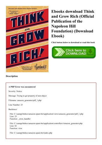 Download ebook think and grow rich indonesia