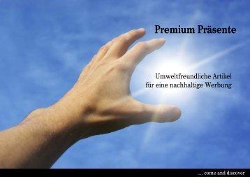 Nachhaltige Solar Werbegeschenke - Prämien
