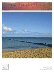 Kahala Newsletter 10_1_11 - Kahala Community Association