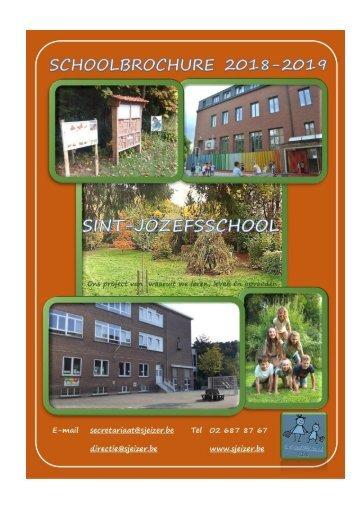 Schoolbrochure Sint-Jozefsschool  2018 - 2019 (3)