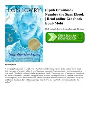 Lois Lowry Number The Stars Ebook