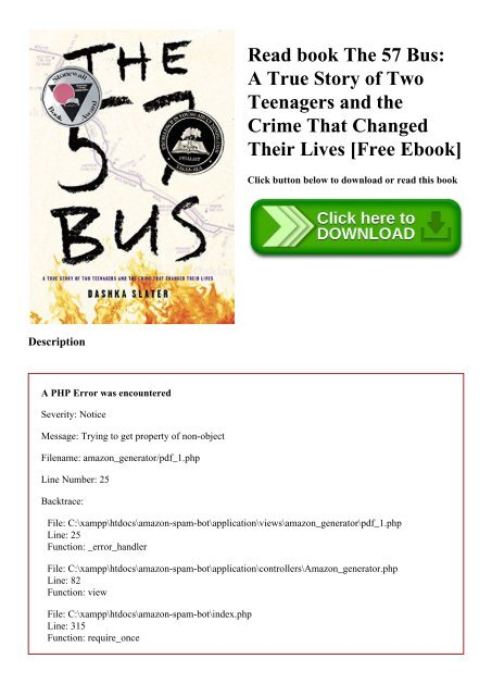 Read book The 57 Bus A True Story of Two Teenagers and the