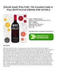 [EbooK Epub] Wine Folly The Essential Guide to Wine DOWNLOAD EBOOK PDF KINDLE