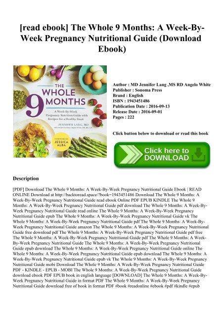 Pregnancy Guide Ebook