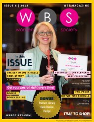 WBS Magazine - Issue 6