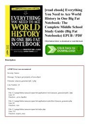 History of middle epub the earth