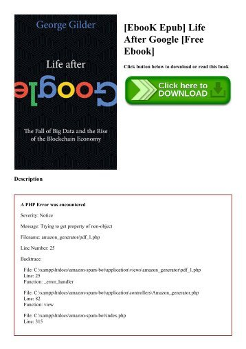 [EbooK Epub] Life After Google [Free Ebook]