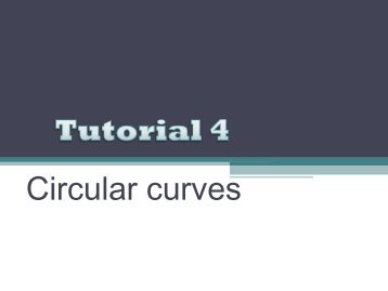 tutorial curve