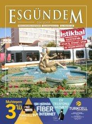 İstikbal Gazetesi Esgündem Dergisi Ağustos 2018 Sayısı