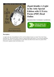 (Epub Kindle) A Light in the Attic Special Edition with 12 Extra Poems (PDF) Read Online