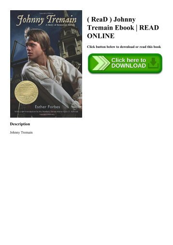 Johnny tremain reading logs fandeluxe Image collections