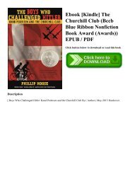 Ebook [Kindle] The Churchill Club (Bccb Blue Ribbon Nonfiction Book Award (Awards)) EPUB  PDF