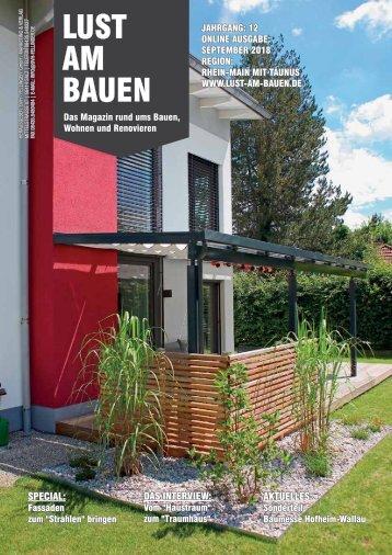 September 2018 Rhein-Main mit Taunus - Online Ausgabe