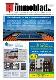 Het immoblad editie Waasland dd 28 augustus 2018