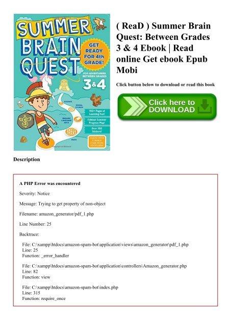 ReaD ) Summer Brain Quest Between Grades 3 & 4 Ebook Read online Get