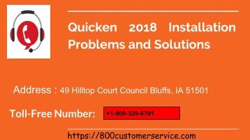 Quicken 2018 Installation Problems and Solutions
