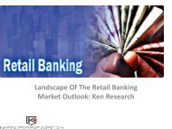 Global Retail Banking Market Research Report, Analysis, Opportunities, Forecast, Applications, Leading Players : Ken Research